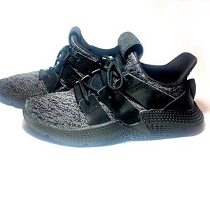 Adidas Prophere J (AQ0510) Shoes, Black, Size 6.5